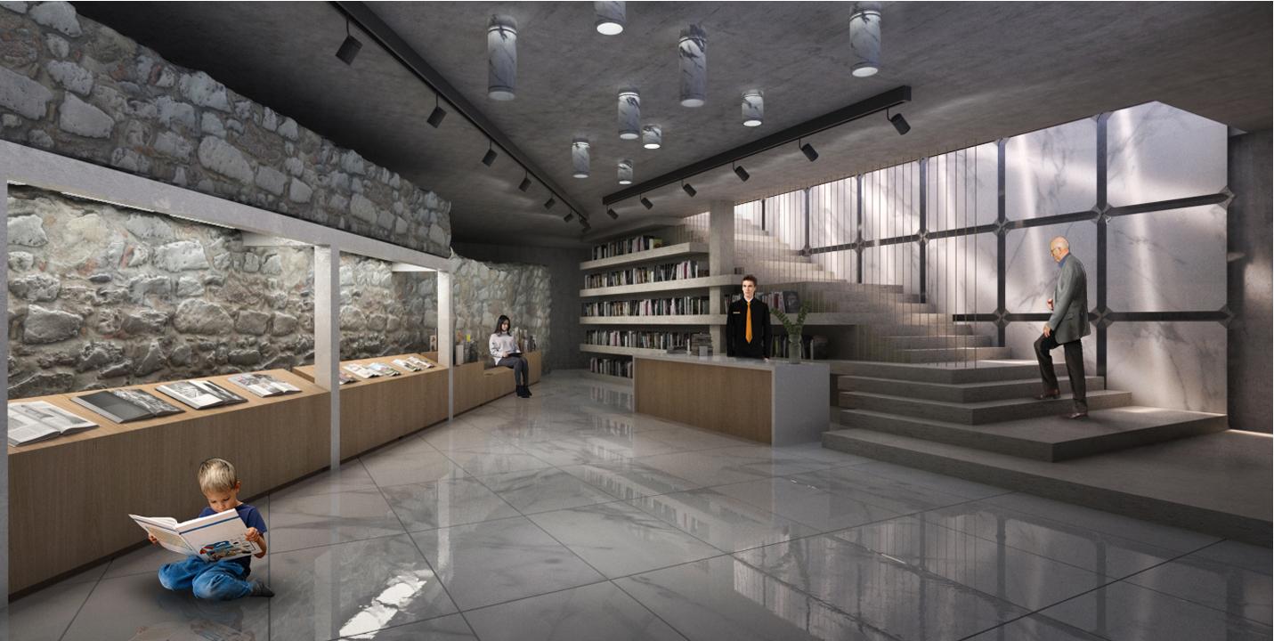 Il progetto per la nuova uscita del museo delle Cappelle Medicee, Firenze.